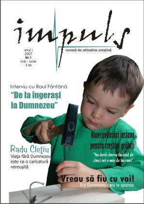 Numarul 1 al revistei Impuls